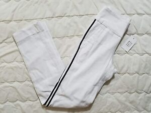 1 NWT GOLFTINI WOMEN'S PANTS, SIZE: 2X-SMALL, COLOR: WHITE/BLACK (J72)