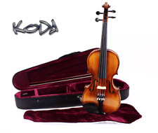 4/4 Size Violin, Koda HDV21 Student Fiddle with Case, Bow and Rosin