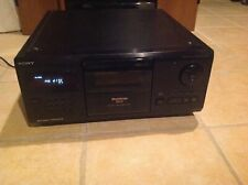 Sony CDP-CX200 CD Player Only No Remote