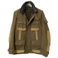 Barbour Beacon Heritage Mens To Ki To Yoshida Scott Bracken Wool Tweed Jacket L