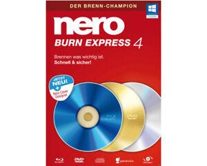 Nero Burn Express 4 Neu & OVP