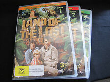 DVD Movie - LAND OF THE LOST Complete Series 8 Discs - Almost New - Region 4