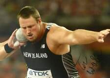Tomas Walsh SHOT PUT autograph, In-Person signed photo