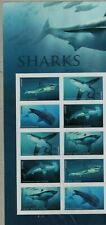 US OCEAN NATURE 2017 SCOTT #5223-5227 SHARKS 10 MNH VF FOREVER STAMP PLATE BLOCK