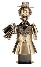 EXTRAVAGANTES Vino Soporte de botellas COMPRAS GIRL de metal altura 33cm