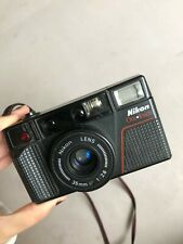 Nikon L35 AF II One Touch f/2.8 35mm Point and Shoot Film Camera