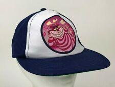 CHESHIRE CAT Disney WHITE Navy BLUE Hat CAP Snapback YOUTH Child's OS