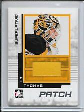 09-10 ITG Superlative Tim Thomas Silver Patch # SP-12