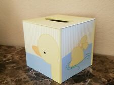NEW TIDDLIWINKS DUCKIE DUCKS YELLOW TISSUE BOX COVER