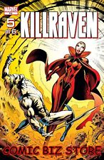 KILLRAVEN #5 (2003) 1ST PRINTING BAGGED & BOARDED MARVEL COMICS