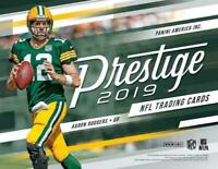 2019 Panini Prestige Football Base Cards U Pick 10 Finish Your Set Updated 02/17