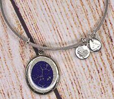 Alex and Ani Zodiac Celestial Wheel Sagittarius Charm Bangle Silver Bracelet