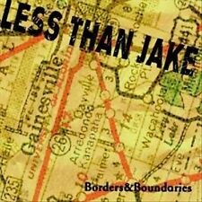 Borders & Boundaries by Less Than Jake (CD, Oct-2000, Fat Wreck Chords)
