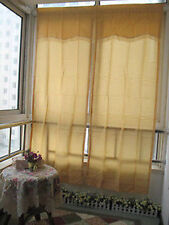 Country Sheer Window Curtains