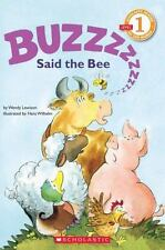 Buzz Said the Bee (Hello Reader, Level 1) by Wendy Cheyette Lewison, Good Book