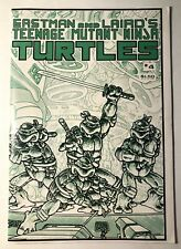TEENAGE MUTANT NINJA TURTLES #4 FIRST (1st) PRINT VF-NM (9.0) Mirage Comics TMNT