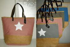 Große Damen-Shopper/- Umwelttaschen aus Canvas/Segeltuch