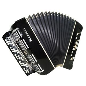 Bayan Concert Double Cassotto, Tula Russian Button Accordion Powerful Sound 1539