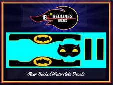 """1/64 '83 Chevy Silverado """"Batman"""" Custom Decal SCR-0258"""