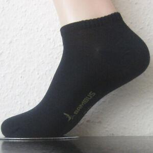 3 Pair Women's Sneakers Bamboo Socks With Soft Rim Dark Blue 35 To 42