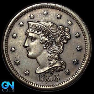1856 Braided Hair Large Cent --  MAKE US AN OFFER!  #K8195