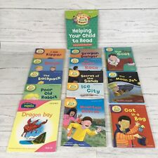 Oxford Reading Tree Phonics Read At Home Mixed Levels Bundle 14 Books incl Guide