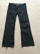 "Ladies Size 10, 28"" Leg Black Jeans By Bay Trading"