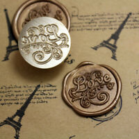 Vintage LOVE Words Sealing Wax Initial Wax Seal Stamp Wedding Favor