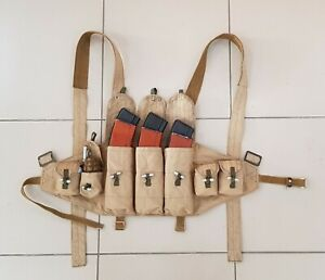 Tactical Load Bearing Vest of Soviet special forces during the Afghan war. Repro