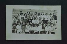 Vintage Photo Postcard Boys & Girls School Class Portrait 964032