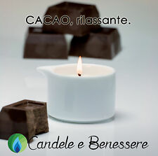 CANDELA DA MASSAGGIO VIVALU - KARITE' e CACAO Rilassante - Candela cosmetica