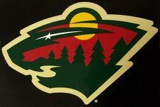 Window Bumper Sticker NHL Hockey Minnesota Wild NEW