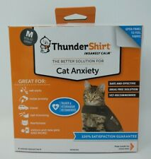 ThunderShirt Cat Anxiety Size: M solid gray #1592