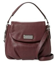 NWT Marc by Marc Jacobs NEW Q Lil Ukita Leather Hobo Shoulder Bag CARDAMOM BROWN