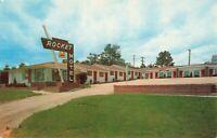 Postcard Rocket Motel Custer South Dakota