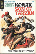 Korak Son of Tarzan Comic Book #31 Gold Key Comics 1969 FINE+