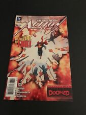 ACTION COMICS #30 NEW 52 SIGNED BY GREG PAK !!!!