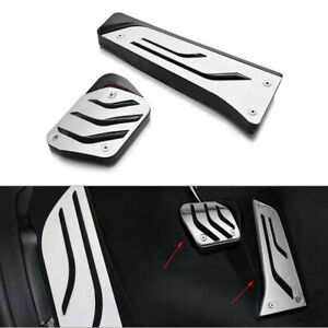 2x Non-Slip Pedal Brake Gas Fuel Pad Car Cover Fit for BMW 1 3 5 7 Series X3 X5