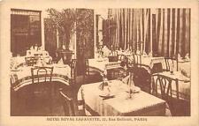 CPA 75 PARIS HOTEL ROYAL LAFAYETTE RUE BUFFAULT