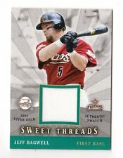 JEFF BAGWELL MLB 2004 SWEET SPOT SWEET THREADS (HOUSTON ASTROS)