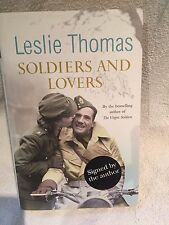 Signed First Edition Leslie Thomas Soldiers and Lovers