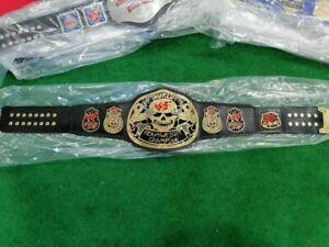 WWF Smoking Skull Heavyweight Wrestling Championship Belt Replica