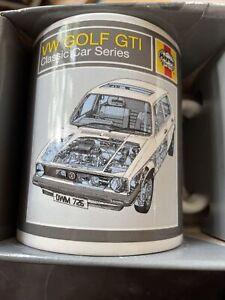Haynes VW Golf GTI Mug New In Box