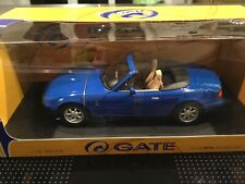 Mazda MX-5 Miata Blau in OVP, 1:18 Gate, erste Generation, Rar.