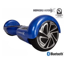 HBX-2 Self Balancing Hoverboard Scooter - UL2272 - Bluetooth Speaker - Blue