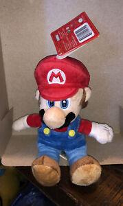 """Global Holdings Super Mario Plush-7.5"""" Mario"""