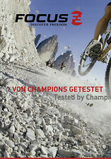 Prospekt Focus Fahrräder 2007 Fahrradprospekt Broschüre Fahrrad brochure bicycle