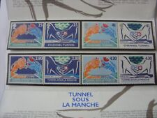 CHANNEL TUNNEL STAMP SET SPECIAL EDITION 1994 ROYAL MAIL/LA POSTE