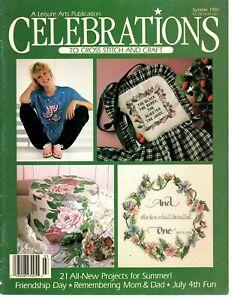 Leisure Arts Celebrations to Cross Stitch and Craft Magazine Summer 1990