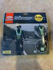 Nip Bell Insight 800 Lighted Safety 3M Reflective Vest Led light Neon Yellow
